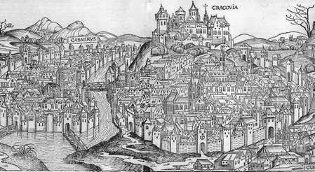 Panorama Krakowa, Cronica Mundi