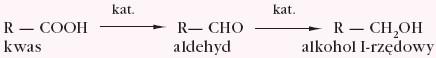 Redukcja kwasu karboksylowego
