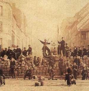 Barykady na ulicach Paryża
