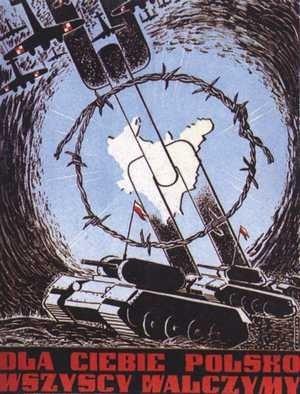 Plakaty Polskich Sił Zbrojnych na Zachodzie oraz AK