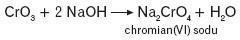 Powstawanie chromianu(VI) sodu