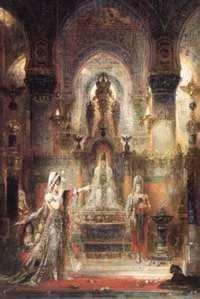 Salome, Gustave Moreau.