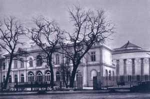 Budynek Parlamentu przy ul. Wiejskiej