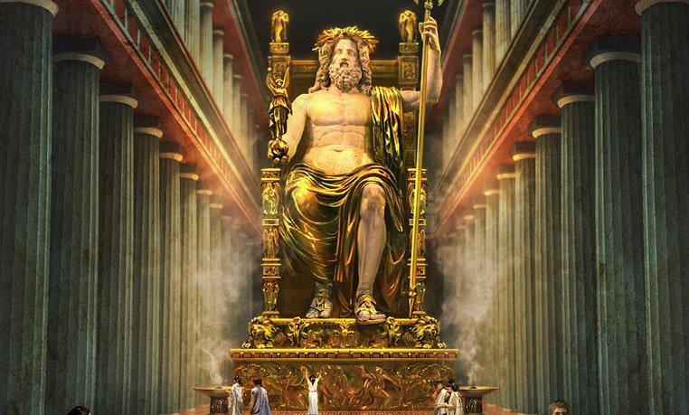 Posąg Zeusa Olimpijskiego