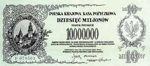 Banknot z czasów hiperinflacji