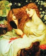 Lilith, Dante Gabriel Rossetti.