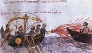 Ogień bizantyjski