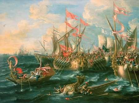 Bitwa pod Akcjum, Lorenzo A. Castro.