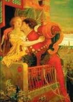 Romeo i Julia, Ford Madox Brown.