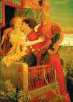 Romeo i Julia, Ford Madox Brown.