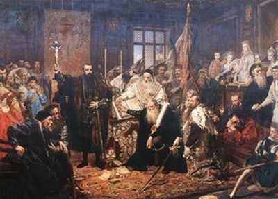 Unia lubelska, Jan Matejko