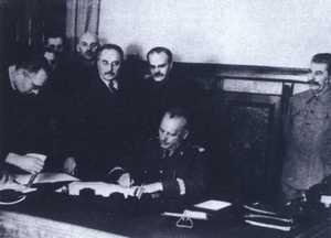 Podpisanie deklaracji polsko-sowieckiej 4 XII 1941 roku