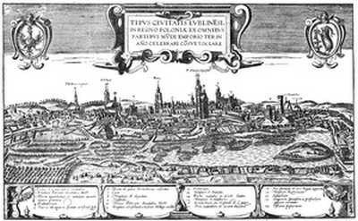 Panorama Lublina, XVI wiek
