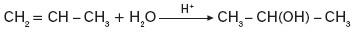 Uwodnienie alkenów w obecności kwasów