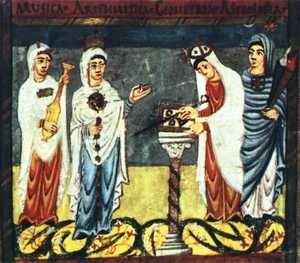 Muzyka, Arytmetyka, Geometria i Astrologia. Średniowieczne quadrivium nauki