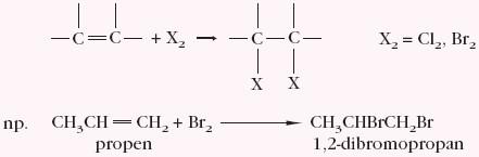 Przyłączanie cząsteczki X2