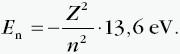 Wzór na energię elektronu