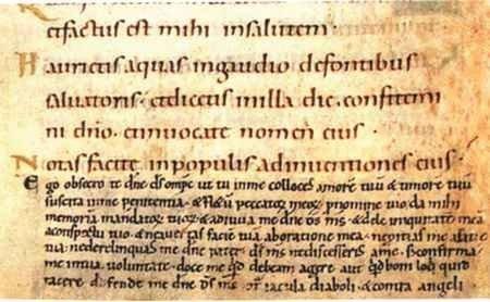 Modlitwy księżnej Gertrudy z Kodeksu Gertrudy, XI wiek