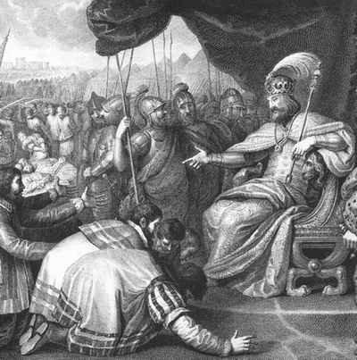 Mieszko II przyjmuje hołd Pomorzan, Franciszek Smuglewicz