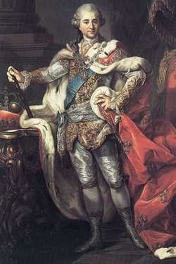 Król Stanisław August Poniatowski, Marcello Bacciarelli.