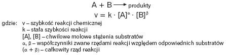 Równanie kinetyczne reakcji