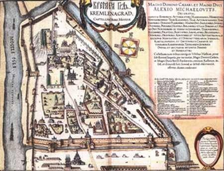 Kreml, XVII wiek