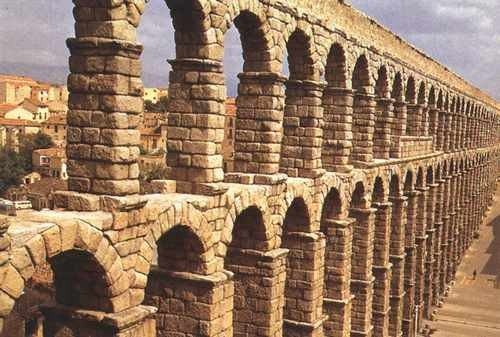 Akwedukt w Segovia – Hiszpania