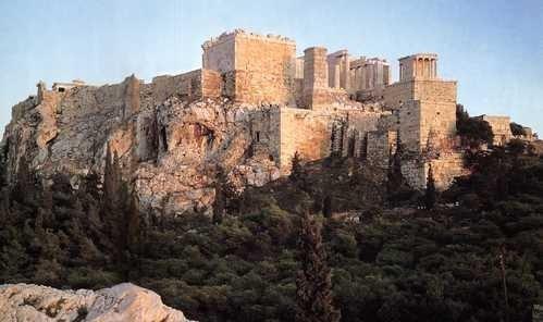 Współczesny widok Akropolu